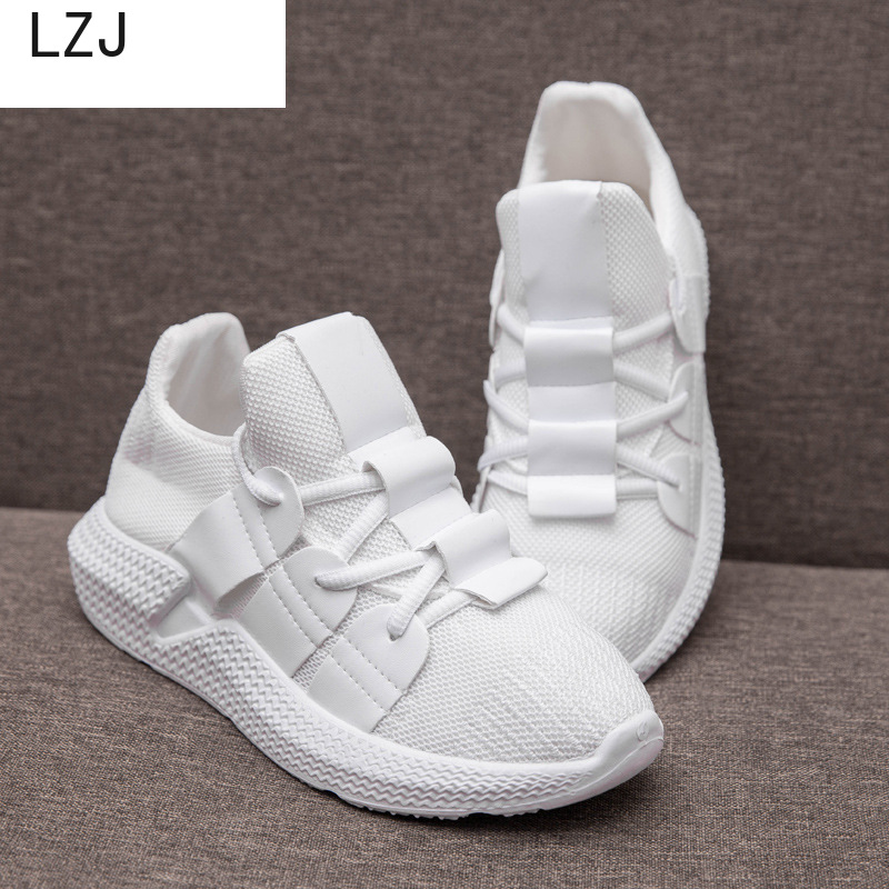 LZJ New 2019 Sneakers Women Platform Casual Shoes Women 2019 Fashion White Shoes Zapatos De Mujer Sneakers Platform Basket Femme