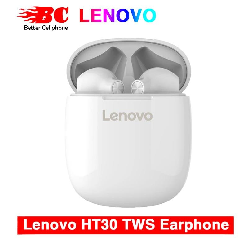 Original Lenovo HT30 TWS, Fingerprint Touch 300mAh,Bluetooth 5.0, headphones HD Stereo Wireless Noise Cancelling Gaming Headset