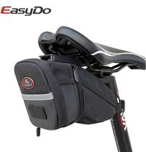 Easydo Waterproof Bicycle Bike Saddle Bag Cycling Back Rear Seat Bags Pouch MTB Road Bike Bag Accessories Bicycle Storage Bag цена 2017