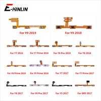 Cable flexible para HuaWei Y9 Y7 Y6 Pro Y5 con botón de Control de botón de encendido y apagado de 100% nuevo primer GR5 2017, 2018, 2019 piezas