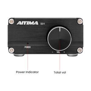 Image 3 - AIYIMA TPA3116 100W Subwoofer wzmacniacz Audio TPA3116D2 Mono cyfrowe wzmacniacze mocy Amplificador z NE5532 OP AMP