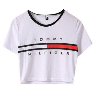Women Summer T-shirts Ladies Short Sleev