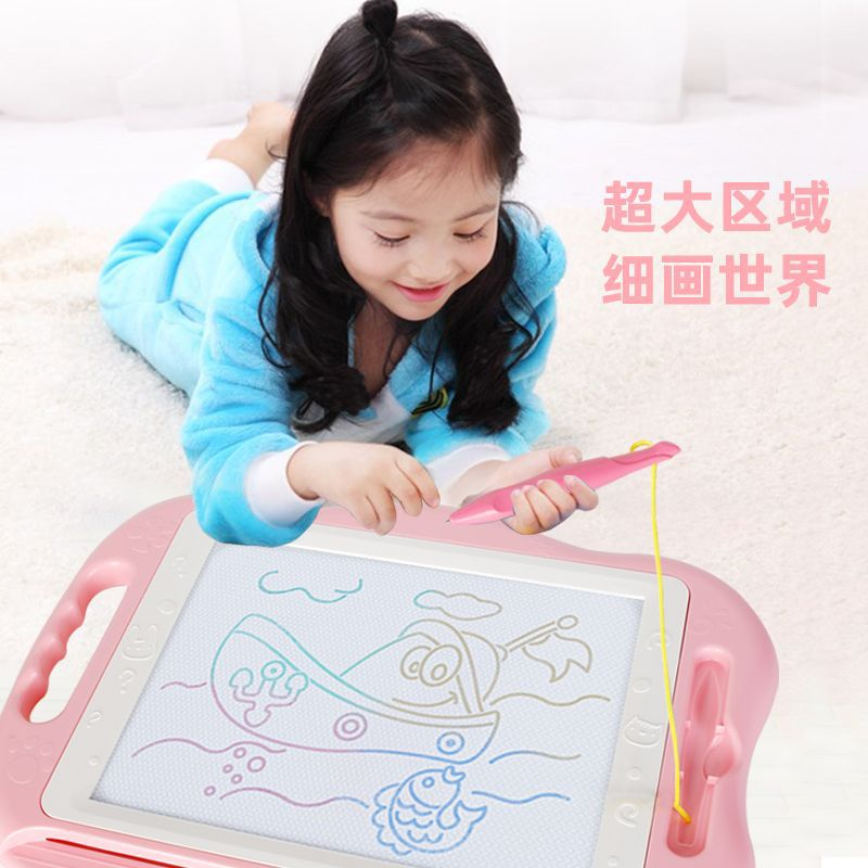 Children Graffiti Sketchpad Educational Magnetic Drawing Board Science Board Cartoon Portable CHILDREN'S Learning Painted Writin