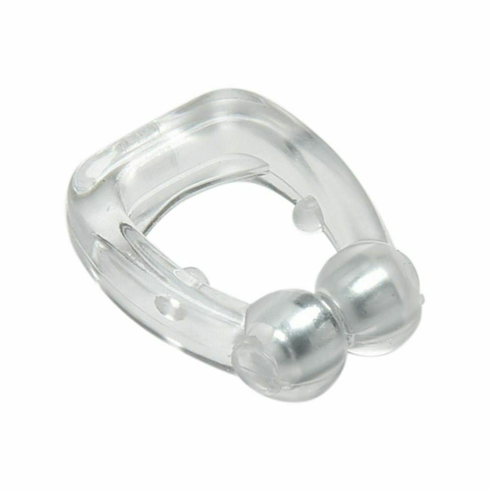 Silikonowy magnetyczny przeciw chrapaniu nos oddychający powstrzymywacz chrapania urządzenie przeciw chrapaniu do bezdechu sennego z etui