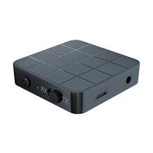 2021 nouveau KN321 Bluetooth 5.0 -Audio récepteur émetteur 3.5mm AUX Jack RCA stéréo musique sans fil adaptateur pour haut-parleur TV voiture PC