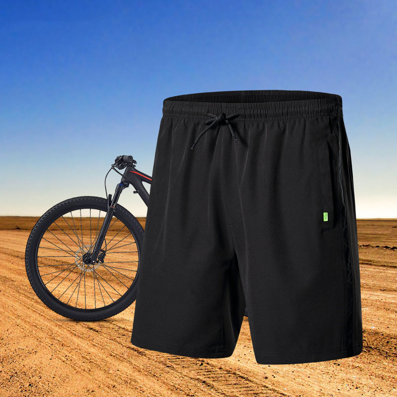 Santic Männer Radfahren Shorts Lose Fit Freizeit Baggy Kurz SANTIC R-FEEL Anti-pille Downhill MTB Bike Riding Short M-3XL k7MB039