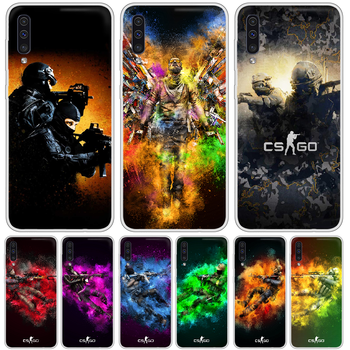Counter Strike Global cs Phone Case cover For XIAOMI Redmi Note 3 4 5 6 7 8 9 9s Pro max 8T 4X transparent funda silicone image