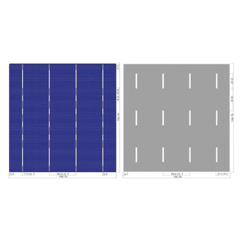 High Efficiency 4.4W Solar Cell  Supply Direct From Manufacturer