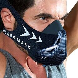 Máscara deportiva FDBRO para Fitness, entrenamiento, carrera, resistencia, elevación, Cardio, máscara de resistencia para entrenamientos deportivos 3,0