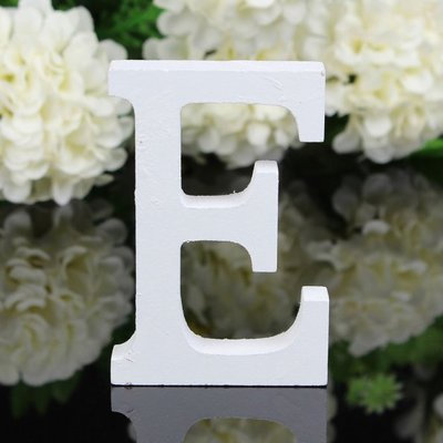 Decorative Wooden Letters 3D Letters Wall Letter for Children Baby Name Girls Bedroom Wedding Birthday Party Home Decor Letters