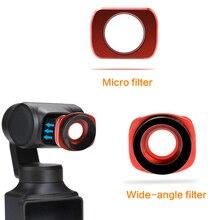 Siêu Ống Kính Góc Rộng Gimbal Cho Fimi Lòng Bàn Tay Gimbal Camera Micro Rộng Lọc Góc Camera Lọc Accessorie