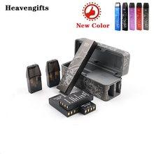 VXV RB Pod Vape Kit 2 uds Batería reemplazable y 2 uds 2,5 ml cápsula y de muelle de carga E cig SISTEMA DE Pod del arrastre Nano / Renova cero