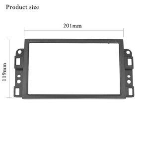 Image 3 - Double 2 Din Car DVD Frame,Audio Fitting Adaptor,Dash Trim Kits,Fascia For Chevrolet Captiva/Lova/Gentra/AVEO