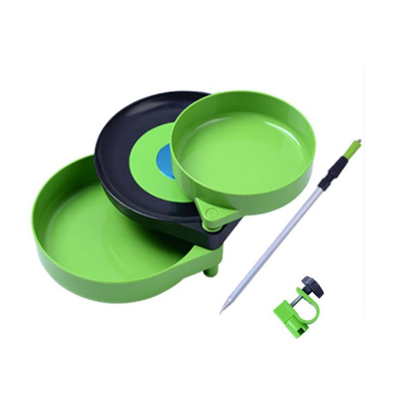 3 In 1 Hand Fishing Tray Tool Storage Organize Case Plastic Tray Compartments Fishing Lure Tackle Plate Sided Plate Cases