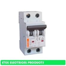 MCB EKM1-63 2P AC C type 400V~ 50HZ/60HZ  Mini Circuit breaker 10A 16A 20A 25A 32A 40A 50A 63A