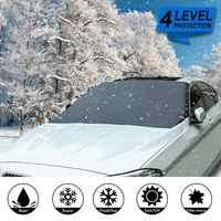 Universale Auto Davanti Parabrezza Magnetico Neve Ghiaccio Shield Parabrezza Della Copertura Della Protezione 210x120cm Auto Anti-gelo Anti -fog Protezione