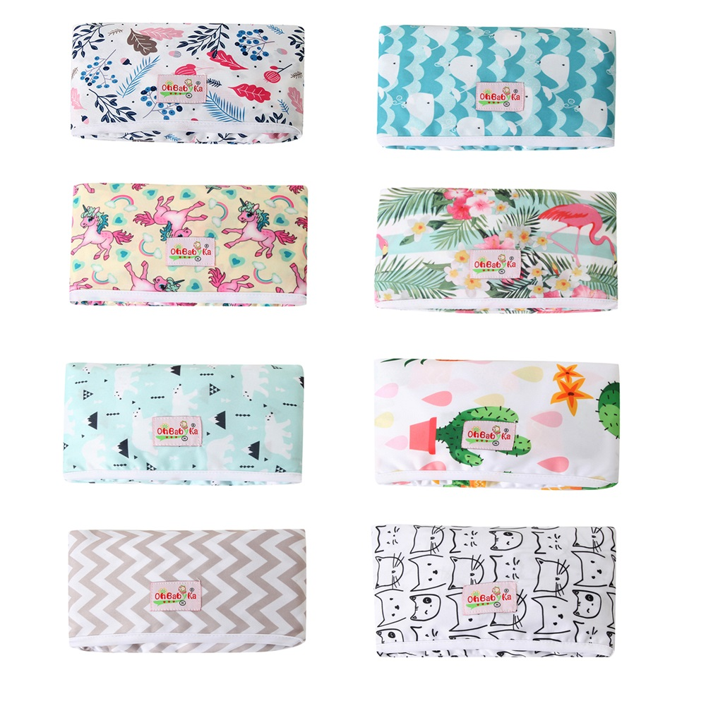New Baby Portable Foldable Washable Compact Travel Washable Nappy Diaper Changing Mat Ohbabyka Waterproof Floor Change Play Mat