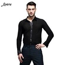 뜨거운 판매 dancewear 망 댄스 셔츠 통기성 라틴 댄스 옷 편안한 무대 착용 볼룸 경쟁 의류