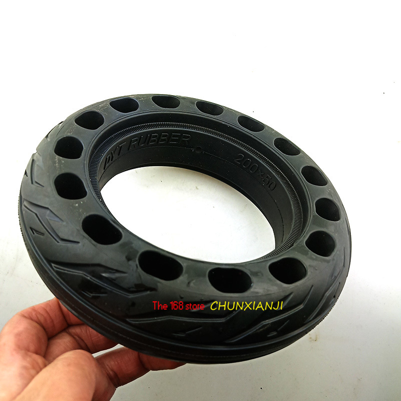200x50 Solid Tubeless Rubber <font><b>Tire</b></font> 8 x 2 inch 8
