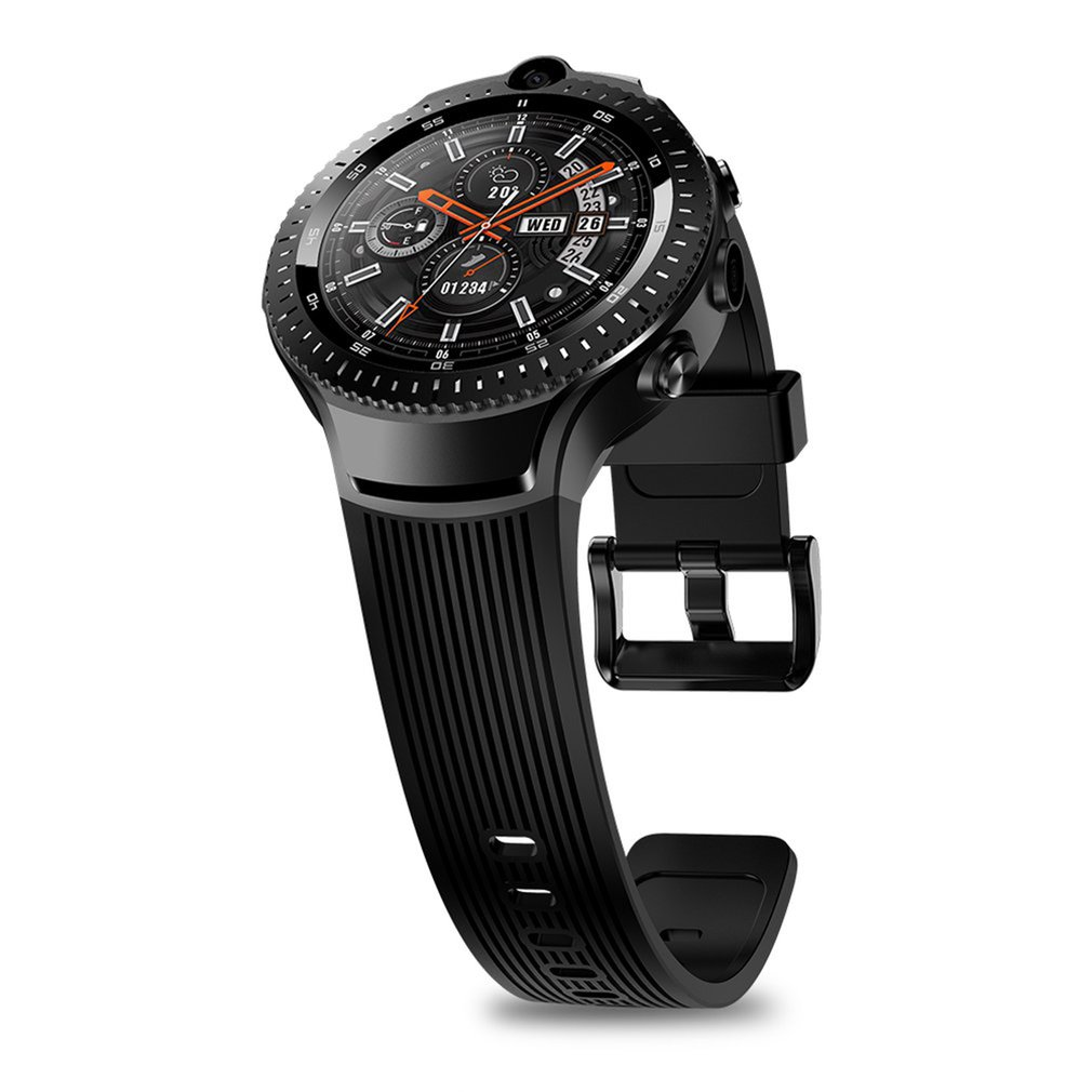 New THOR 4 Dual <font><b>4G</b></font> <font><b>SmartWatch</b></font> 5.0MP+5.0MP Dual Camera Android Watch 1.4