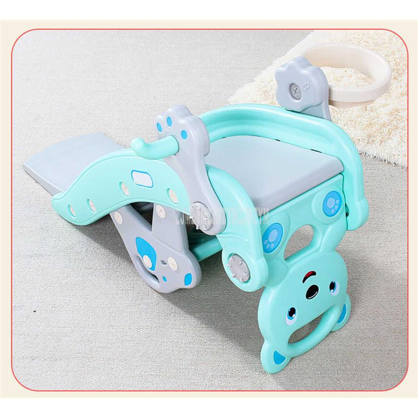 2 في 1 الأطفال طفل هزاز الحصان تسلق لعبة الانزلاق متعددة الوظائف ذات الاستخدام المزدوج كرسي متأرجح سوينغ كرسي لعبة للأطفال DQ-T629