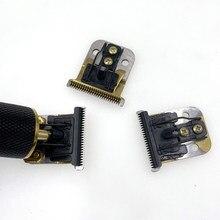 Kemei 1971 – lames de rechange remplaçables en métal et en céramique, 0mm, pour tondeuse à cheveux T9
