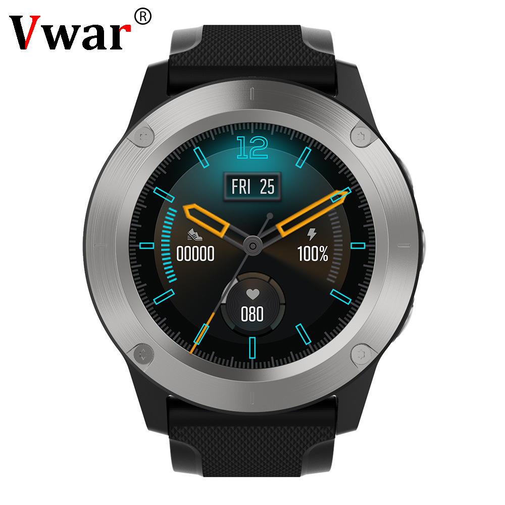 R911 GPS Smart Watch Men Heart Rate Monitor Fitness Tracker Compass Atmospheric Pressure Altitude Temperature Monitor Smartwatch