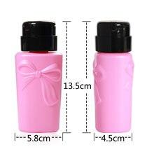 1 шт бутылка для жидкости снятия лака ногтей