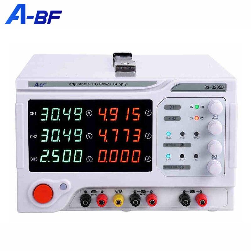 A-BF Lab источник питания постоянного тока, стабилизированный источник, регулятор напряжения, четырехразрядный многоканальный трехсторонний ...