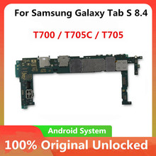 Płyta główna do Samsung Galaxy Tab S 8 4 T700 T705C T705 płyta główna oryginalna odblokuj płytę logiczną z pełną płytą logiczną chips16gb tanie tanio HHXHH Wewnętrzny For Samsung Galaxy Tab S Motherboard For Samsung Galaxy Tab S Mainboard Original Disassemble Unlocked Used