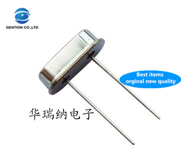 50pcs 100% New And Orginal HC-49S 49S DIP-2 Passive In-line Crystal 37.5M 37.5MHZ 37.500MHZ