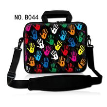 Colorful Hands Neoprene Laptop Shoulder Bag 7 10 12 13 14