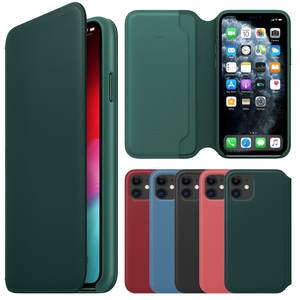 Pine Green For IPhone 11 Case For IPhone 11 Pro 11 Pro Max Original Ultra-Thin Leather