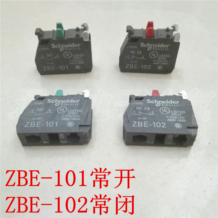 Zbe101 Zbe102 Button Switch Contact