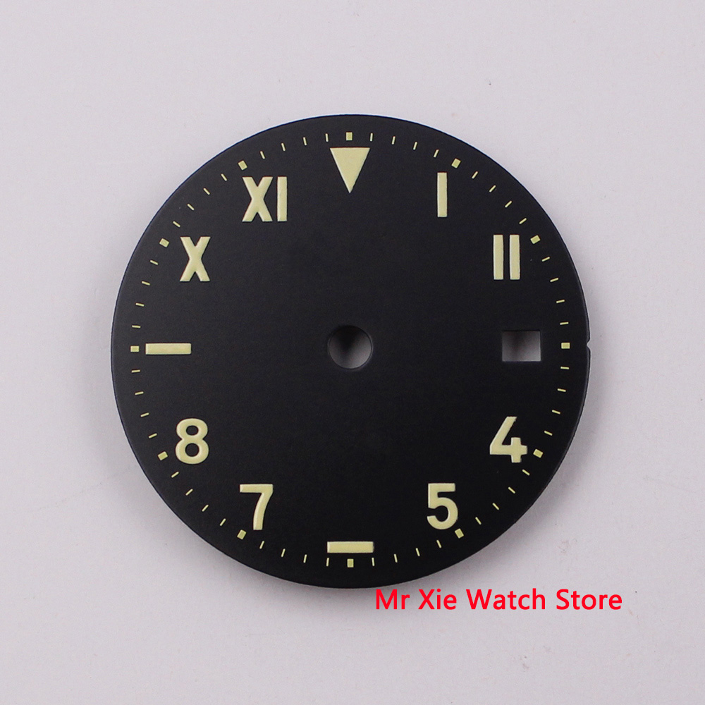 28.5mm sterile WATCH FACE Dial fit 2836/2813/3804,Miyota 82 Series movement
