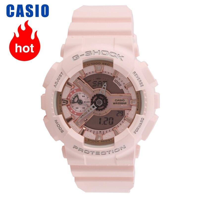 Casio montres à la mode décontracté dames montres GMA S110MP 4A1