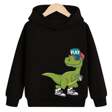 Sweatshirts Hoodies Long-Sleeve Baby Baby-Boys-Girls Kids Children Cartoon Autumn New Spring Tops Clothes Clothing Dinosaur s kids bing bunny cartoon print hoodies coats for boys girls rabbit long sleeves hoody sweatshirts for children costumes