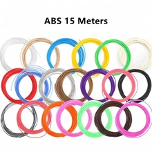 3D Pen Special ABS 15M Filament 1.75mm ABS Refill 3D Printer 3D Pen DIY Plastic Colorful 1.75 No Pollution Send In Random