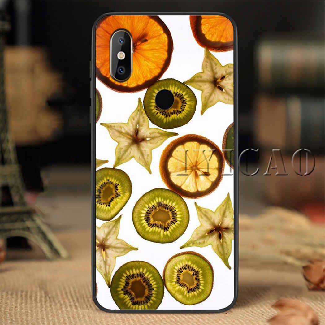 Fruit Plakjes Soft Phone Case Cover voor Xiao mi mi 6 8 9 8 9 se 8 LITE 9 Pro f1 A1 2 5X 6X