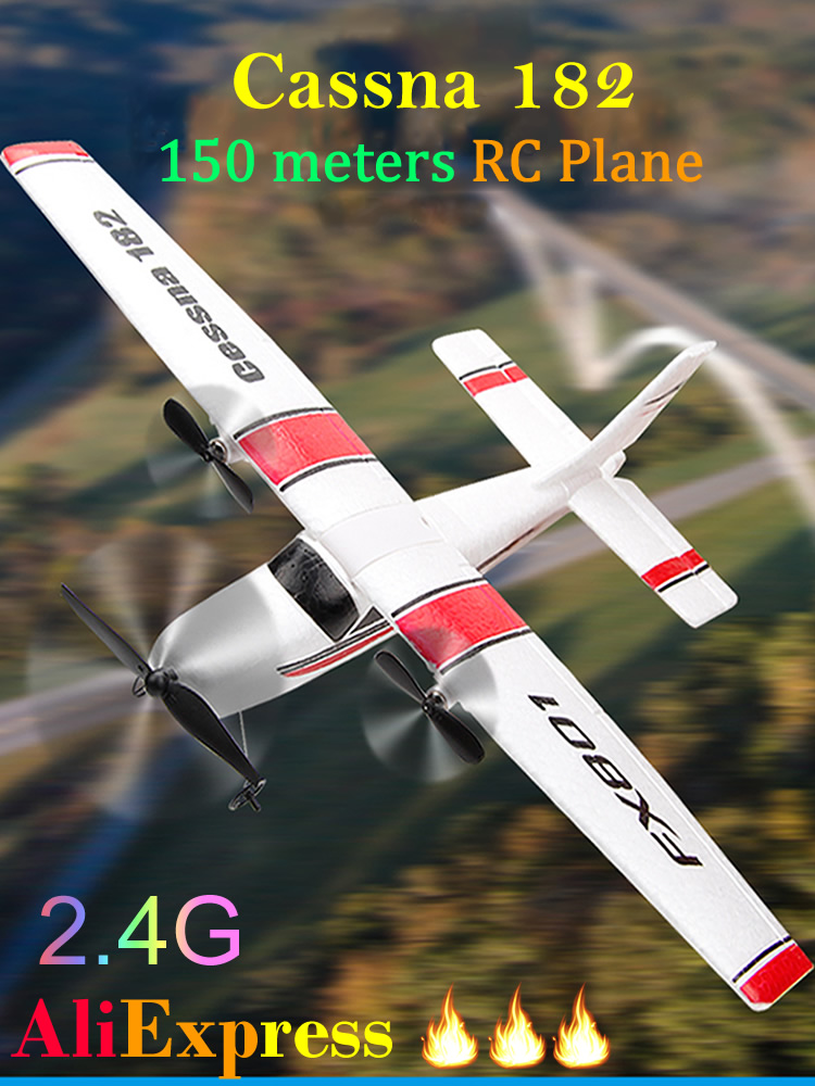 RC Airplane Glider Battery UAV Epp Foam Remote-Control Aircraf Electric Cassna 182 More