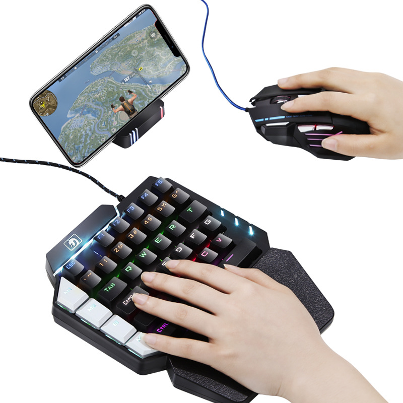 PUBG Adapter gaming Mouse Keyboard Converter Practical Bluetooth 4.0 Gamepad Accessories for Game LOL/Dota/OW/Fortnite
