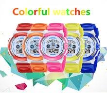 Zegarek sportowy dla dzieci chłopcy dziewczęta 30m wodoodporne zegarki cyfrowe LED zegar elektroniczny dla dzieci dzieci zegarek dla dzieci