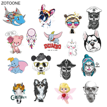 ZOTOONE Dream Catcher Cute Animal Girl Angel Patch Ironing Heat Transfer for Clothing Iron on T-shirt DIY  Hot Press O