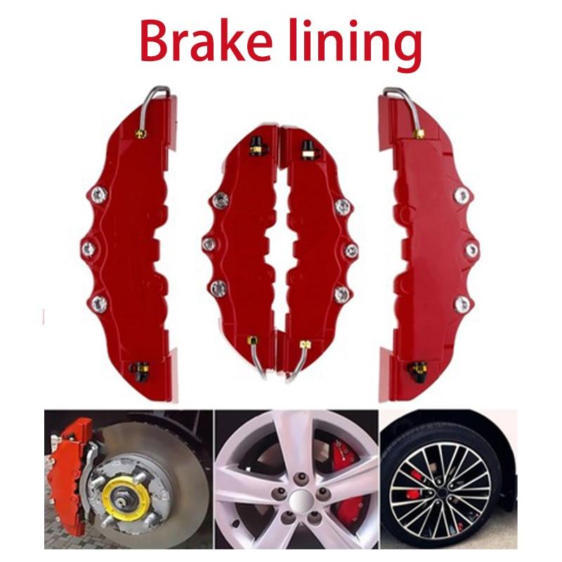 2pcs Car Tire Wheel Hub Disc Brake Caliper Cover For Mercedes Benz W211 W203 W204 W210 W205 W212 W220 AMG Jaguar XE XF XJ