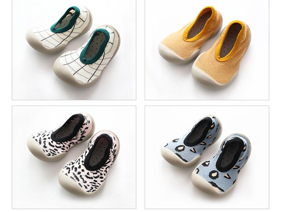 Bebê sapatos de algodão crianças meninas meninos