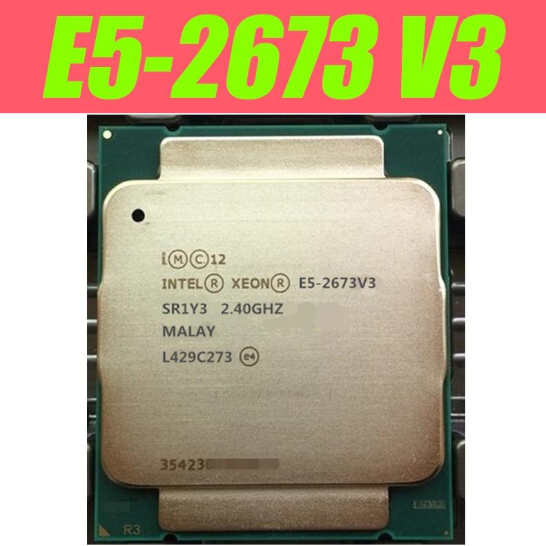 E5 2673 V3 Оригинальный процессор Intel Xeon E5 2673V3 12 ядер E5 2673V3 2,4 ГГц E5 2673 V3 LGA2011 3 б/у|Процессоры|   - AliExpress - Сверх Сборка