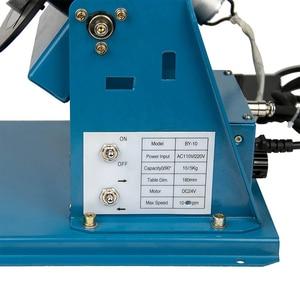 Image 5 - Giratorio de soldadura de 220V por 10 10KG, rotador para tubería o círculo, posicionador de soldadura con K01 65, Cartucho de mini mandril M14