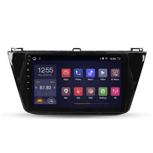 2 din Car Radio Multimedia Video Player Navigation GPS Android For Volkswagen Tiguan 2 Mk 2016 2017 2018 2019 2020(China)