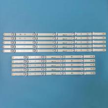 10 قطعة/المجموعة 1025 مللي متر 9 المصابيح جديد LED قطاع 49LB5500 LC490DUE ل LG Innotek DRT 3.0 49 ab 6916L 1944A 6916L 1945A