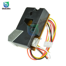 DSM501A Dust Sensor Module PM2.5 Detection Dector Allergic Smoke Particles For Air Condition Testing Equipment